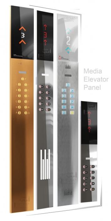 Elevator Cabinet Panel - Dorsa Model - Media® Production