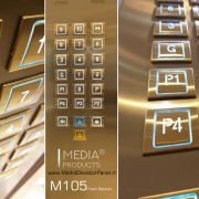 Elevator Push Buttons M105 Media Producr کلید آسانسور