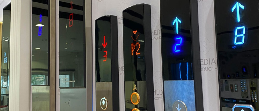 شستی کلید آسانسور روکار لوکس و پرطرفدار